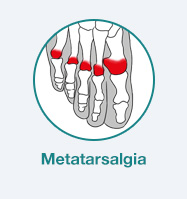 dor diagnostico metatarsalgia pé