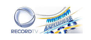 logotipo recordtv e domingo espetacular