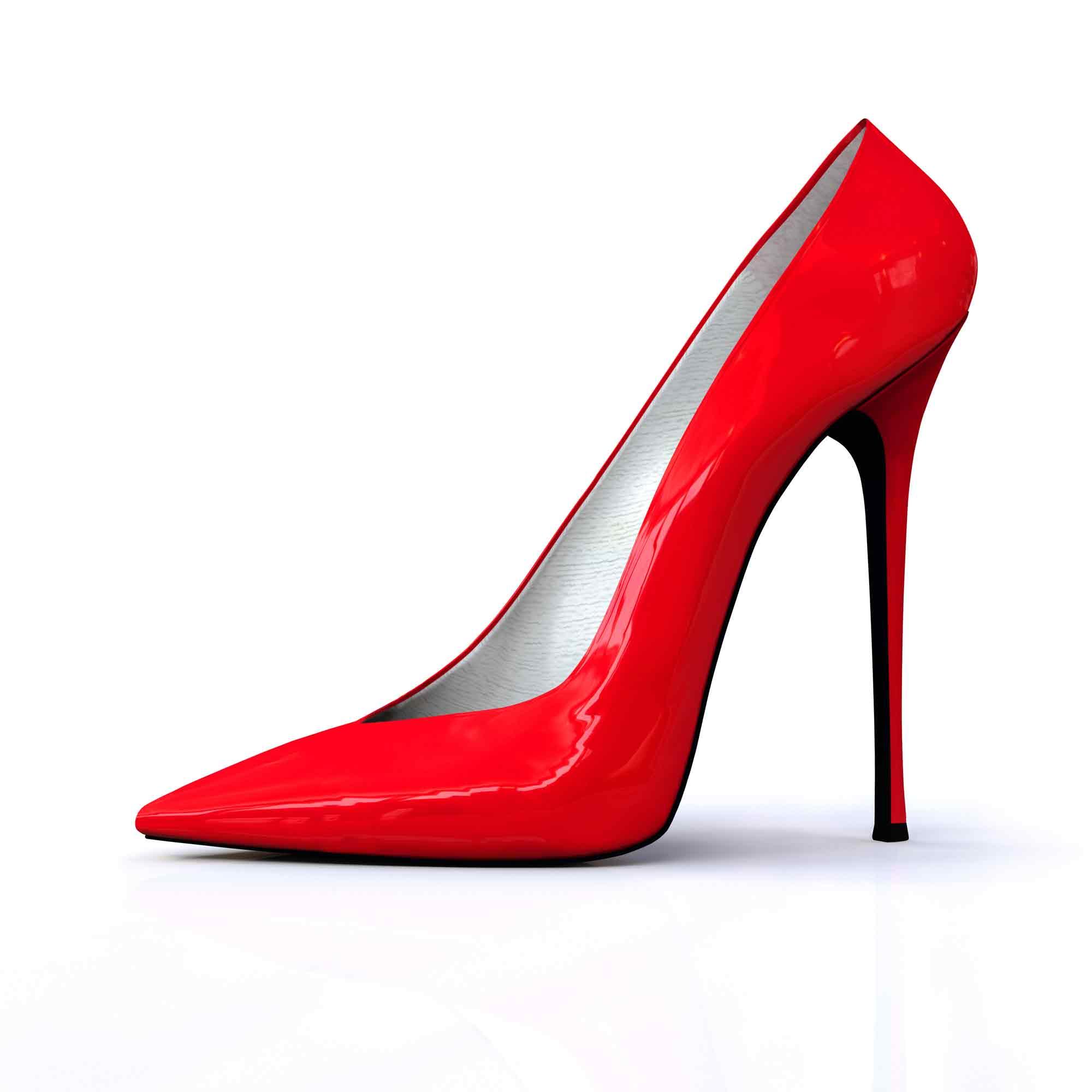 Sapato de salto alto e a saúde dos pés