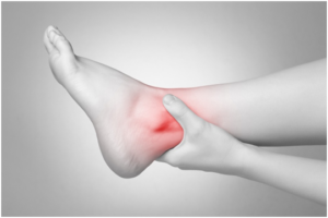 Dor na parte externa tornozelo