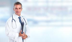 Imagem de um médico.