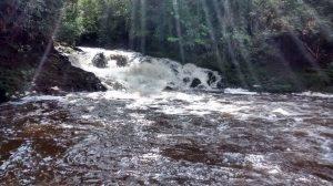 Fotografia da Cachoeira do Sagui.