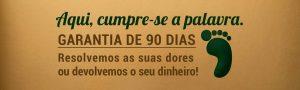 Imagem de um banner com a garantia de 90 dias.