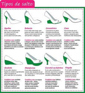Tipos de saltos que são utilizados pelas mulheres