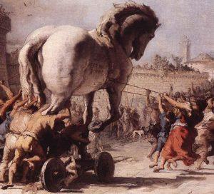 Arte sobre a guerra de Troia