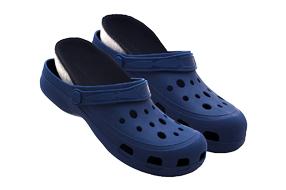 Sandália boaonda clog azul