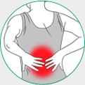 icone ilustrativo para dor na lombar
