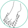 icone ilustrativo para neuropatia periferica