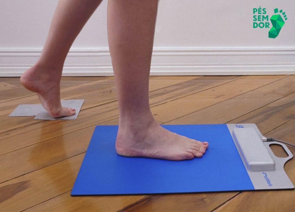 Análise dos pés no baropodometro