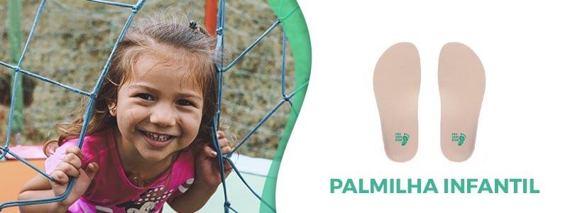 Palmilhas para crianças
