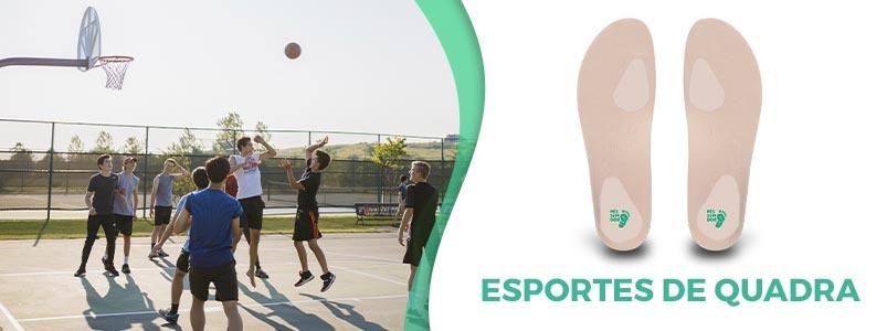 Palmilha paracrianças praticarem esportes